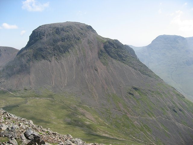 Great Gable seen from Kirk Fell