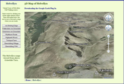 3D Map of Helvellyn