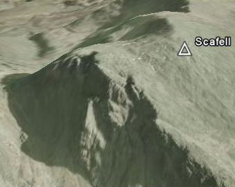 scafell map screen shot