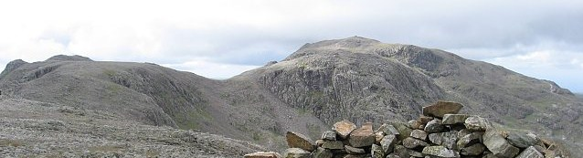 The Scafell Pike from Great End