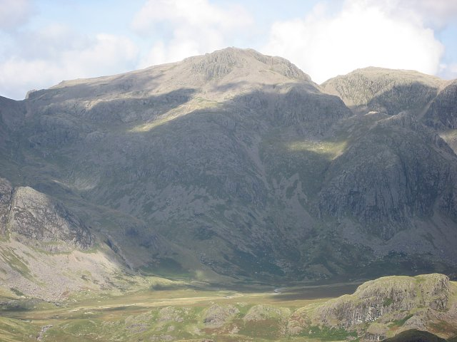 Scafell Pike via Cam Spout and Mickledore