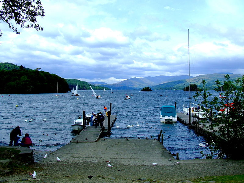 Lake Windermere in the Lake District